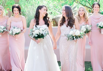 Bride, Maid of Honor, & Bridesmaids