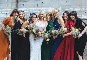 Our Favorite Fall Bridesmaids' Dresses From Rent the Runway