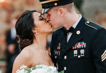 Traditional Military Wedding