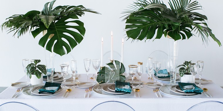 Incorporate Nature into Your Tropical Wedding