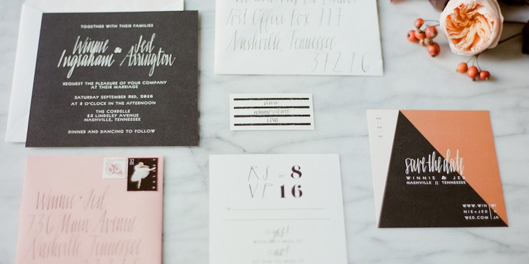When to Send Save the Dates and Wedding Invitations