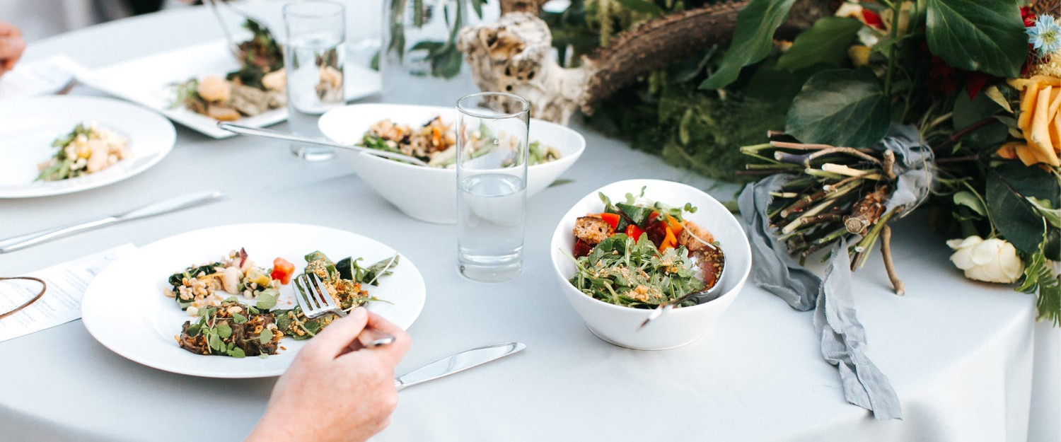 Wedding Food that Wows with Fogcutter Catering