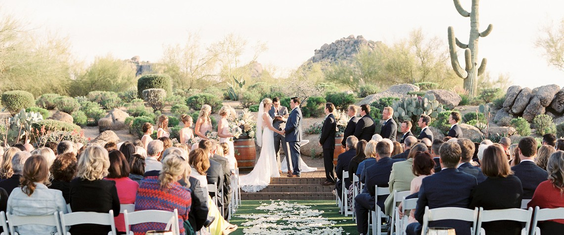 Delicate Desert Charm Wedding