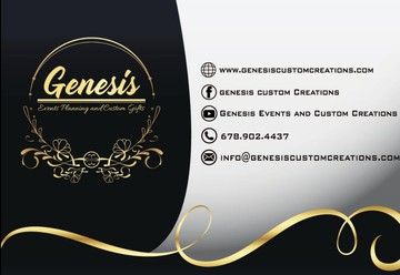 Genesis Events Planning and Custom Creations