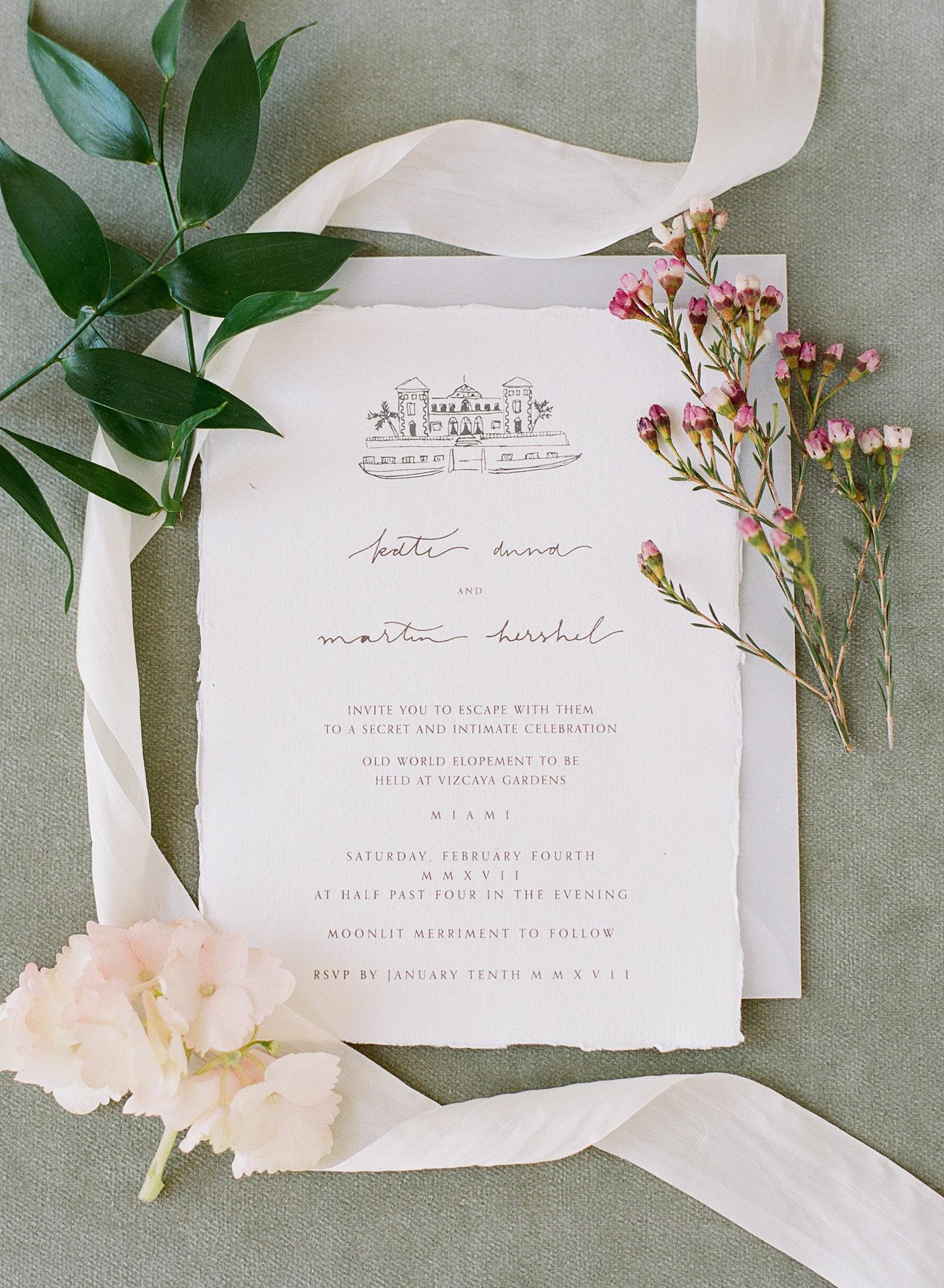 Vizcaya Gardens Wedding from Ninth and Everett