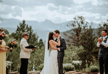 Rustic Rocky Mountain Wedding