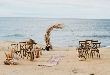 Bohemian Beach Wedding at Sunset Cliffs