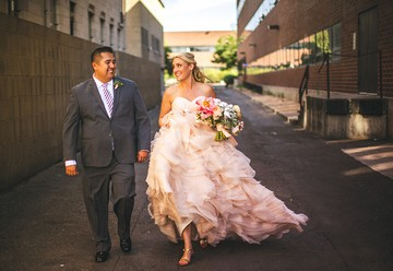 Sparkling Downtown Denver Wedding