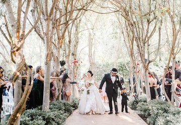 Romantic Garden Wedding in Southern California