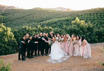 Organic Wedding at a Historic Avocado Ranch