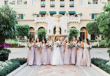 A Romantic & Regal Las Vegas Wedding