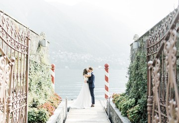A Rustic Lake Como Wedding