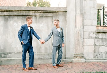 Modern and Masculine Wedding Inspiration