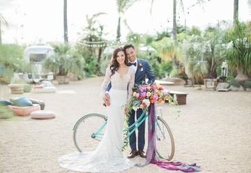 Colorful Ojai Ranch Wedding from CMG Events