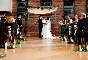 Industrial Chic: A Brilliant Baltimore Wedding