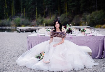 Soft and Moody Lake Tahoe Wedding Inspiration