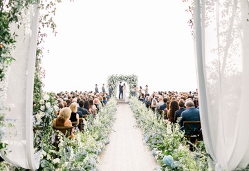 An Elegant Floral La Jolla Wedding