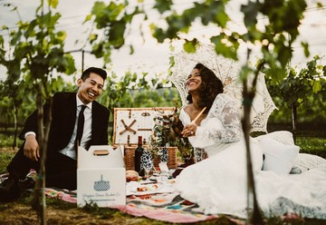 Vintage Vineyard Elopement