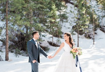 Winter Forest Elopement
