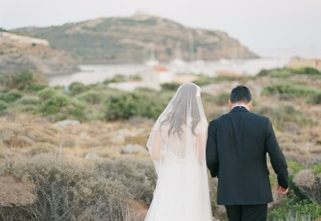 Stunning Destination Wedding in Greece