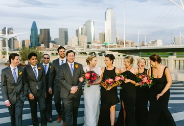 Modern Wedding in Downtown Dallas