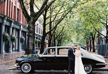 Lush Fall Wedding in Seattle's SoDo Park