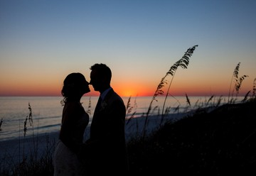 A Fall Wedding in the Gulf