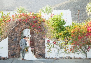 Modern Desert Wedding