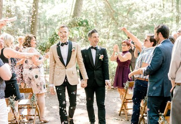 Intimate Summer Wedding in the Woods