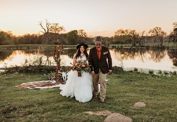 Western Wedding Inspiration in Bryan, Texas