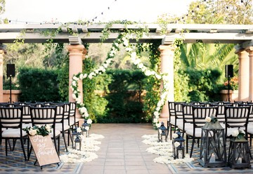 Dreamy Al Fresco Wedding Ceremony