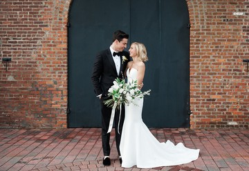Modern Jewish Wedding at Liberty Warehouse