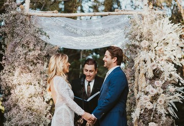 Boho-Chic Wedding in Claremont, California