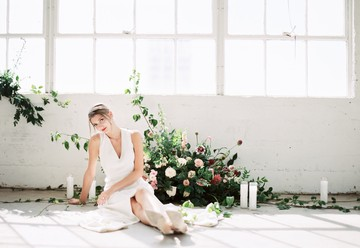 Striking Minimalist Wedding Inspiration
