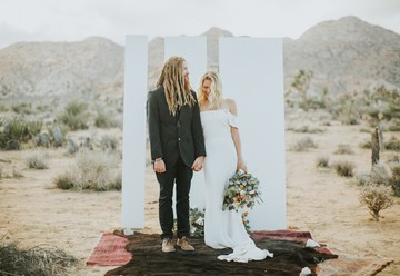 Boho Elopement in Joshua Tree