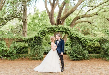 Classic Garden Wedding at the Lace House