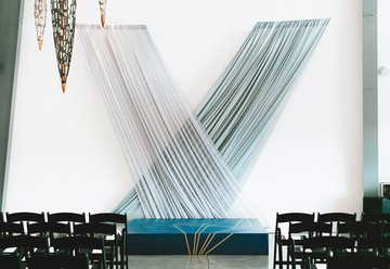 Modern Art Gallery Wedding