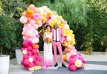 Hot Pink Wedding Inspiration at the Fig House