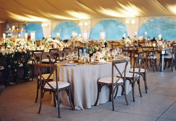Timeless Tented Rooftop Wedding