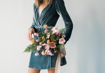 Whimsical Fall Wedding Floral Inspiration