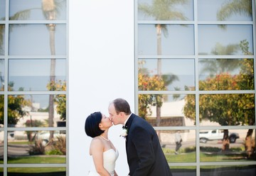 A Black Tie Bowers Museum Wedding