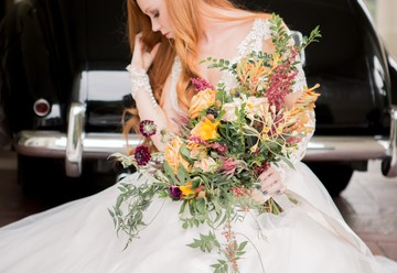 Elegant Tuscan Fall Wedding Inspiration