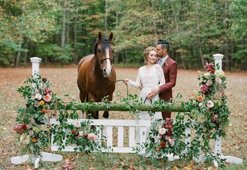 Equestrian Inspired Wedding Design