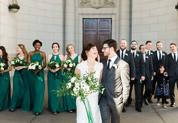Modern Jewish Wedding at Union Station
