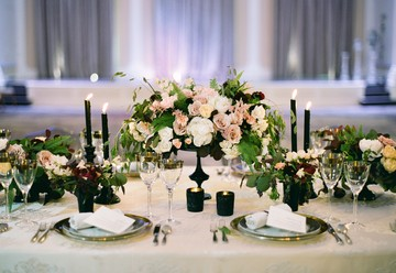 Moody Wedding Inspiration at the Ritz Carlton