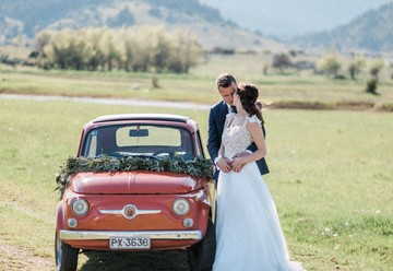 A Gorgeous Greek Countryside Wedding