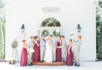 A Summer Chapel Wedding at the Morris Estate