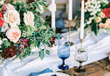 Organic Something Blue Wedding Inspiration
