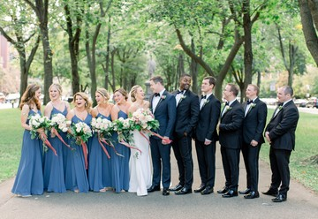 A Romantic Garden State Room Wedding