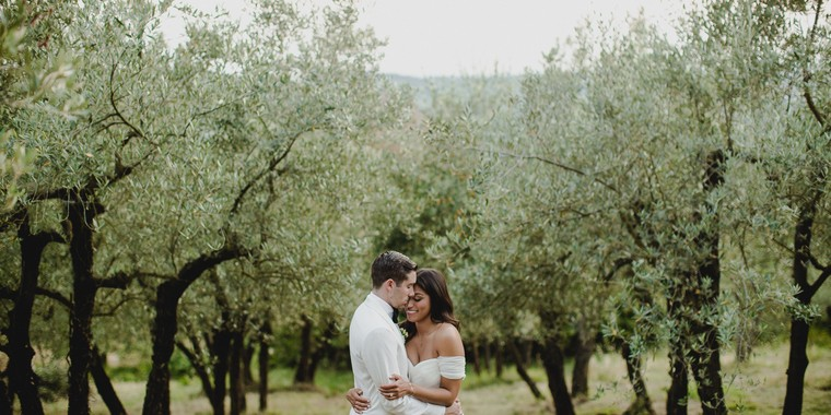 Intimate Italian Countryside Wedding